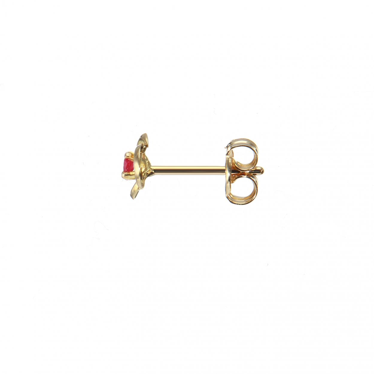 boucle d'oreille 2mm