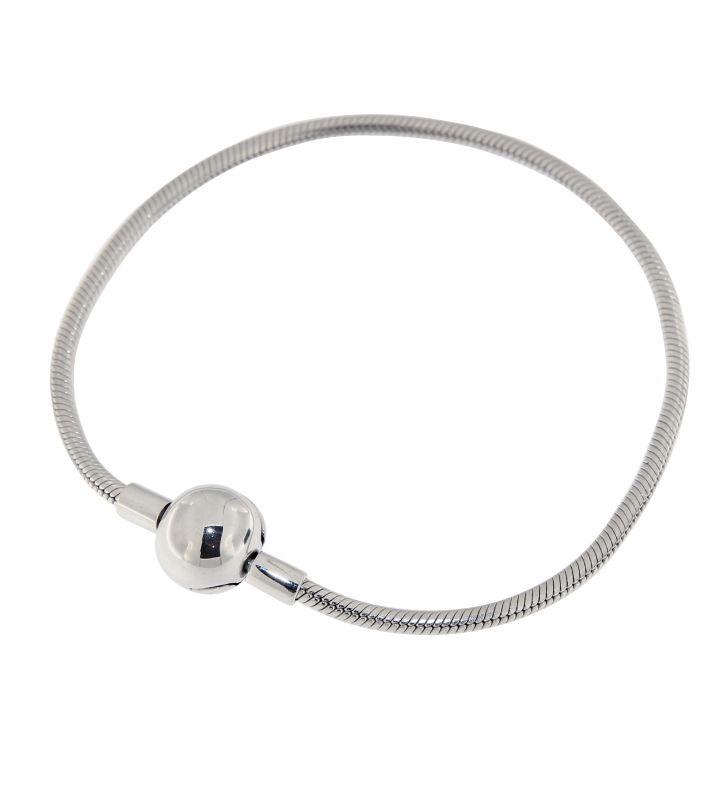 bracelet argent pour charm