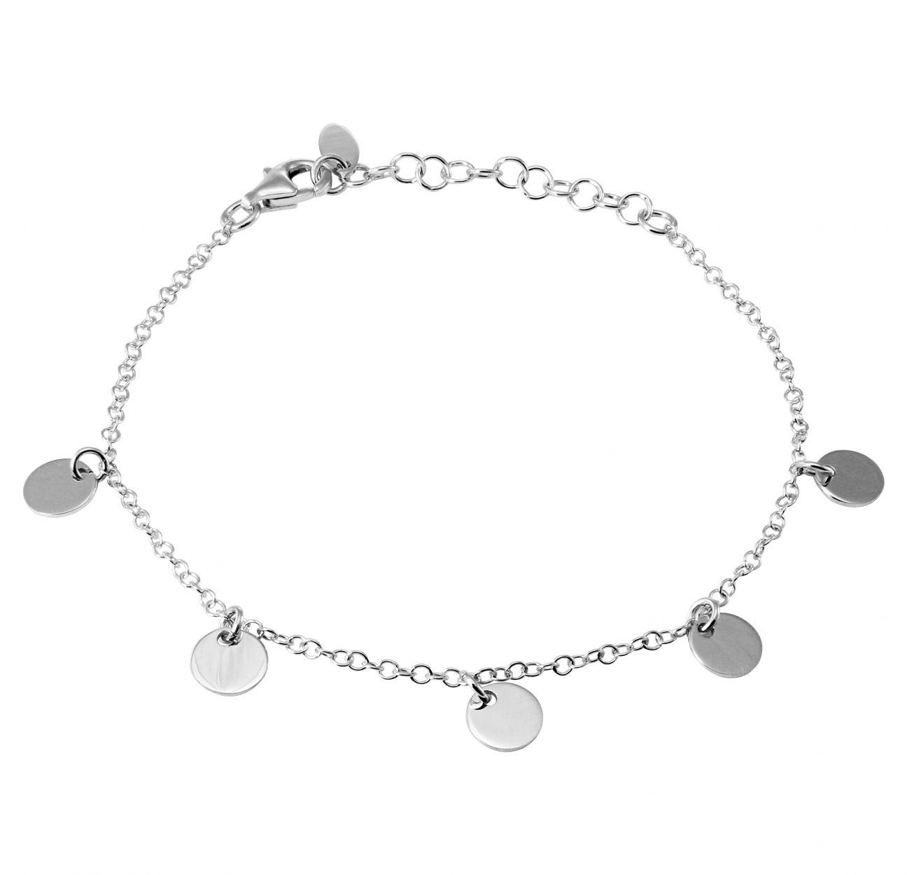 image bracelet argent
