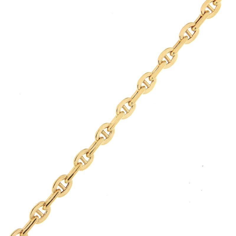 bracelet maille marine en or jaune 375 x 19cm ref 42139. Black Bedroom Furniture Sets. Home Design Ideas