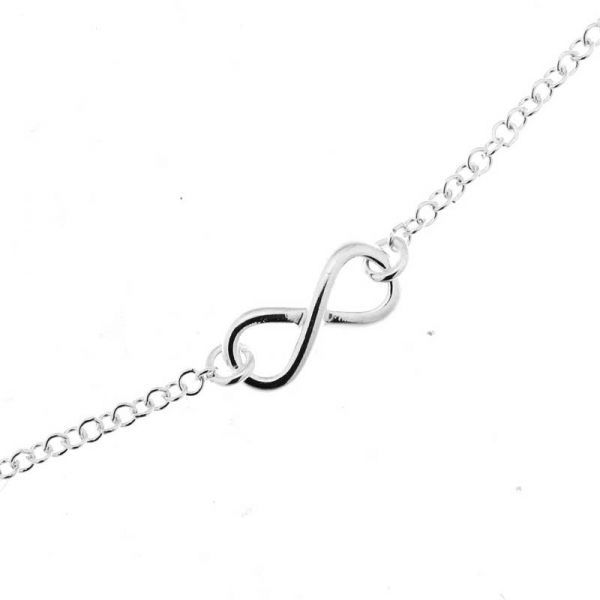 Bracelet Signe Infini Argent 925 Ref. 36628