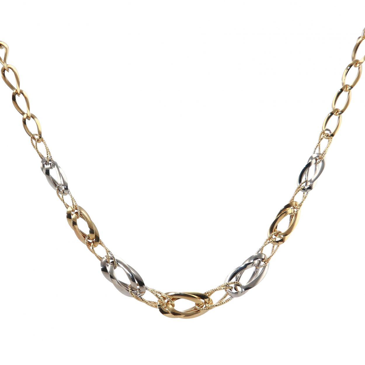 collier 2 or homme