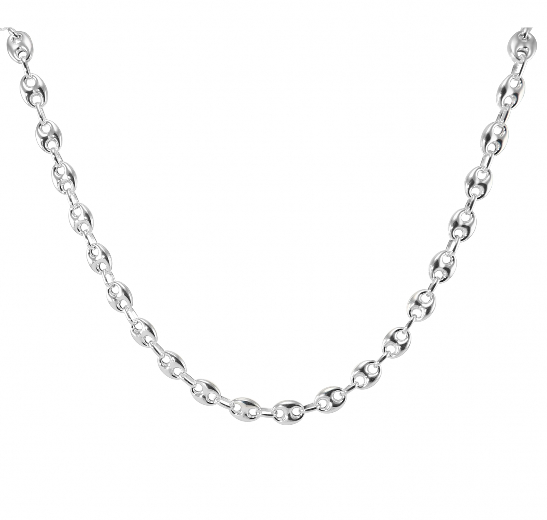 collier argent 60cm