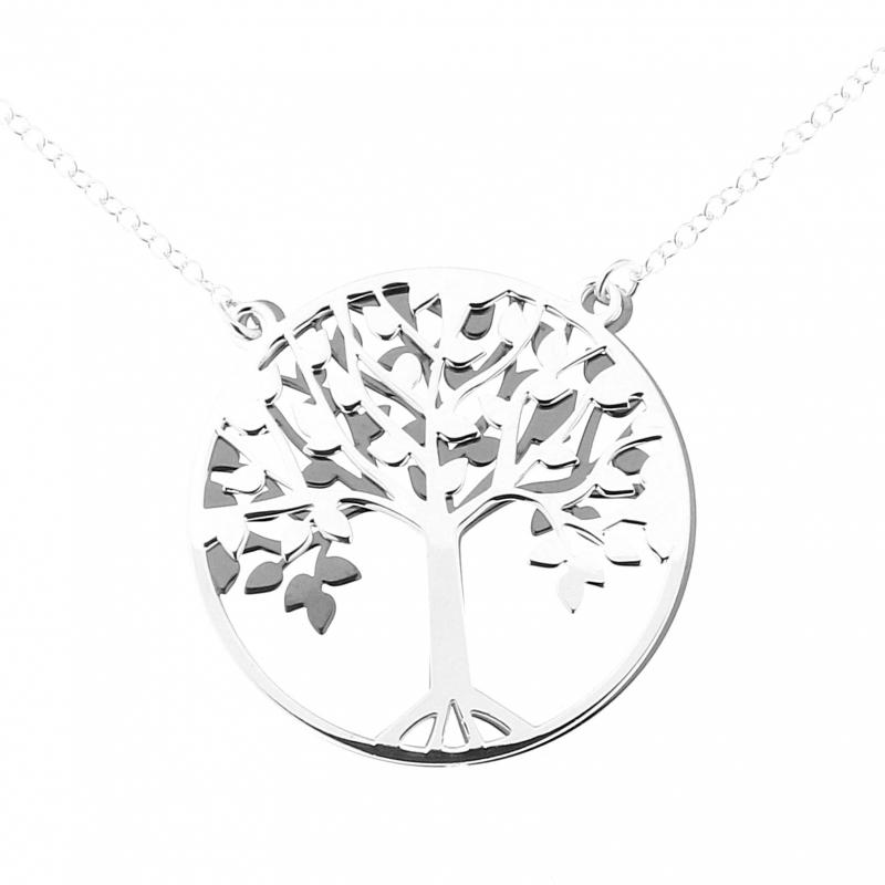 collier homme arbre de vie