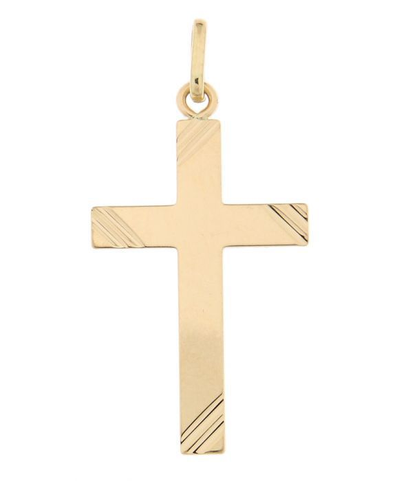 croix en or homme