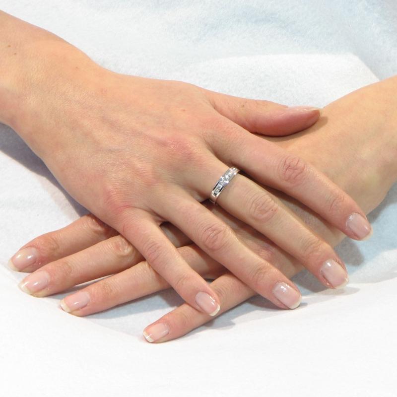 demi alliance or blanc diamant serti rail ref 29310. Black Bedroom Furniture Sets. Home Design Ideas