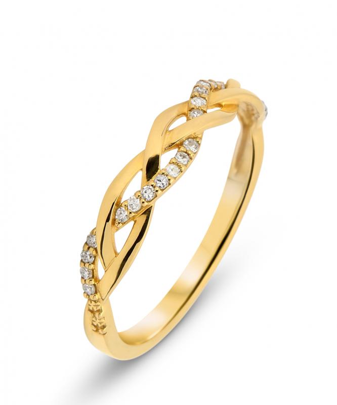 demi alliance or jaune diamant carat ref 35949. Black Bedroom Furniture Sets. Home Design Ideas