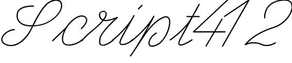 gravure style Script412
